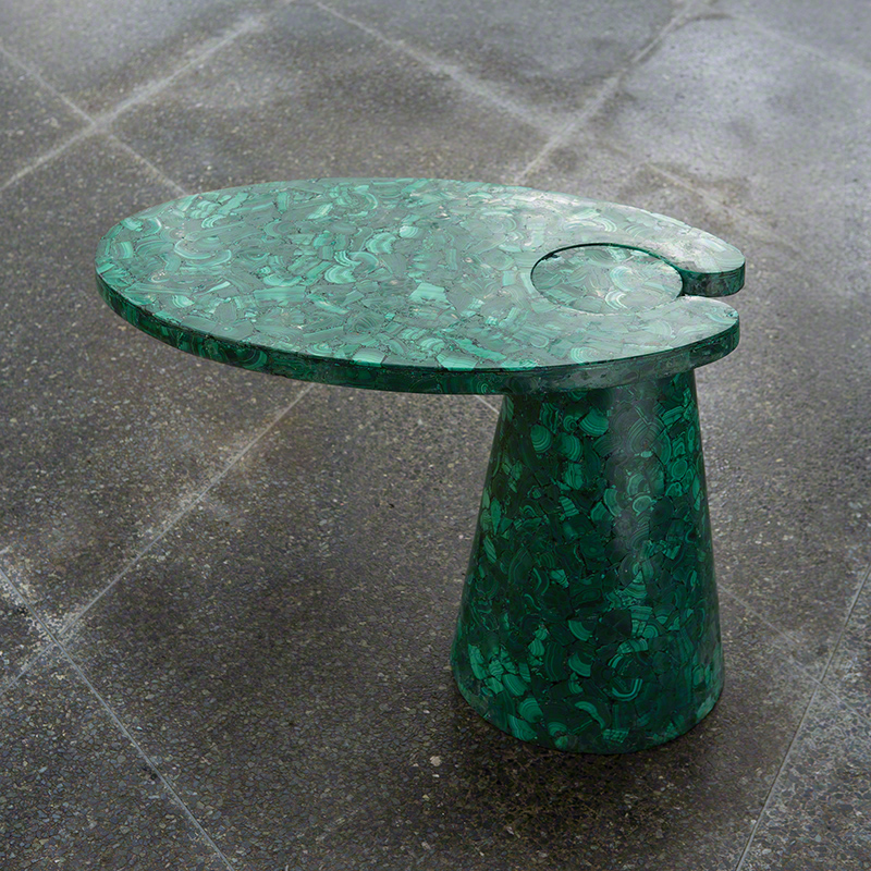 malachite, table